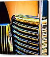 1939 Studebaker Champion Grille Canvas Print by Carol Leigh