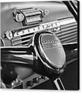 1950 Chevrolet 3100 Pickup Truck Steering Wheel Canvas Print by Jill Reger