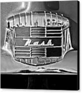 1951 Nash Emblem Canvas Print by Jill Reger
