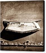1954 Chevrolet Power Glide Emblem Canvas Print by Jill Reger