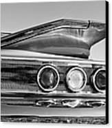 1960 Chevrolet Impala Resto Rod Taillight Canvas Print by Jill Reger