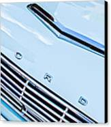 1963 Ford Falcon Futura Convertible Hood Emblem Canvas Print by Jill Reger