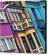 Abstract Istanbul 02 Canvas Print by Antony McAulay