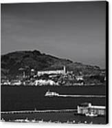 Alcatraz Island Canvas Print by Mountain Dreams