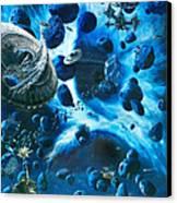 Alien Pirates  Canvas Print by Murphy Elliott