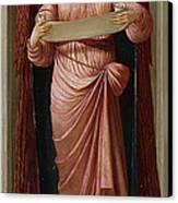 Angels Canvas Print by John Melhuish Strudwick