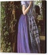 April Love Canvas Print by Arthur Hughes