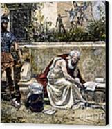 Archimedes  Canvas Print by Granger