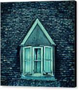 Attic Window Canvas Print by Jill Battaglia