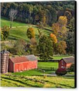 Autumn Light Canvas Print by Bill Wakeley