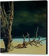 Avant L Orage Canvas Print by Guillaume Bruno