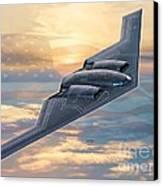 B-2 Spirit Canvas Print by Stu Shepherd