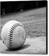 Baseball Canvas Print by Kelly Hazel