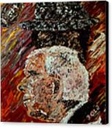 Bear Bryant And Mal Moore  Canvas Print by Mark Moore