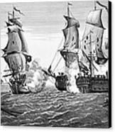 Bonhomme Richard, 1779 Canvas Print by Granger