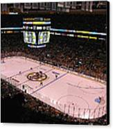 Boston Bruins Canvas Print by Juergen Roth