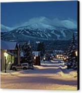 Breckenridge Colorado Morning Canvas Print by Michael J Bauer