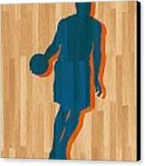 Carmelo Anthony New York Knicks Canvas Print by Joe Hamilton