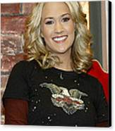 Carrie Underwood Canvas Print by Don Olea