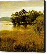 Chill October Canvas Print by John Everett Millais