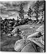 Chimney Beach Lake Tahoe Canvas Print by Scott McGuire