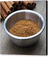 Cinnamon Spice Canvas Print by Edward Fielding