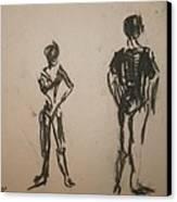Dancing  Canvas Print by Elena Svobodina