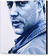 Dave Matthews  Canvas Print by Joshua Morton