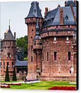 De Haar Castle. Utrecht. Netherlands Canvas Print by Jenny Rainbow
