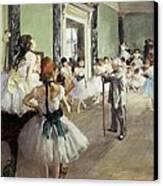 Degas, Edgar 1834-1917. The Dancing Canvas Print by Everett