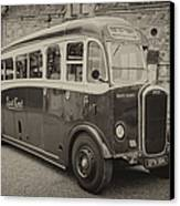 Dennis Lancet Vintage Bus Canvas Print by Steev Stamford