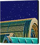 Destination By Night Canvas Print by Wendy J St Christopher