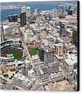 Downtown San Diego Canvas Print by Bill Cobb