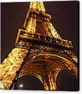 Eiffel Tower - Paris France - 011314 Canvas Print by DC Photographer
