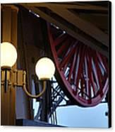 Eiffel Tower - Paris France - 01139 Canvas Print by DC Photographer