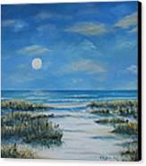 Evening Calm Canvas Print by Stanton Allaben