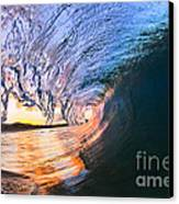 Fire And Ice Canvas Print by Sean Davey