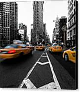 Flatiron Building Nyc Canvas Print by John Farnan