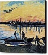 Gogh, Vincent Van 1853-1890. The Canvas Print by Everett