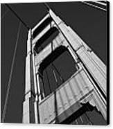 Golen Gate Tower Canvas Print by Darren Patterson