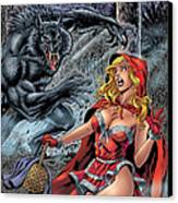 Grimm Fairy Tales 01 Canvas Print by Zenescope Entertainment
