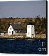 Grindel Point Lighthouse  Canvas Print by Skip Willits