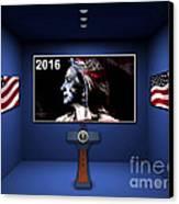 Hillary 2016 Canvas Print by Marvin Blaine