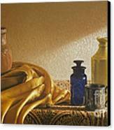 Inspired By Vermeer Canvas Print by Barbara Groff