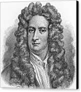 Isaac Newton Canvas Print by Oprea Nicolae
