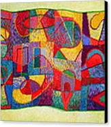 Jigsaw Tapestry Canvas Print by Diane Fine