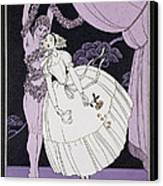 Karsavina Canvas Print by Georges Barbier