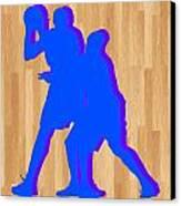 Kevin Durant Kobe Bryant Canvas Print by Joe Hamilton