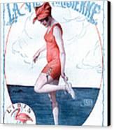 La Vie Parisienne 1918 1910s France Canvas Print by The Advertising Archives