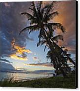Lahaina Sunset Canvas Print by James Roemmling